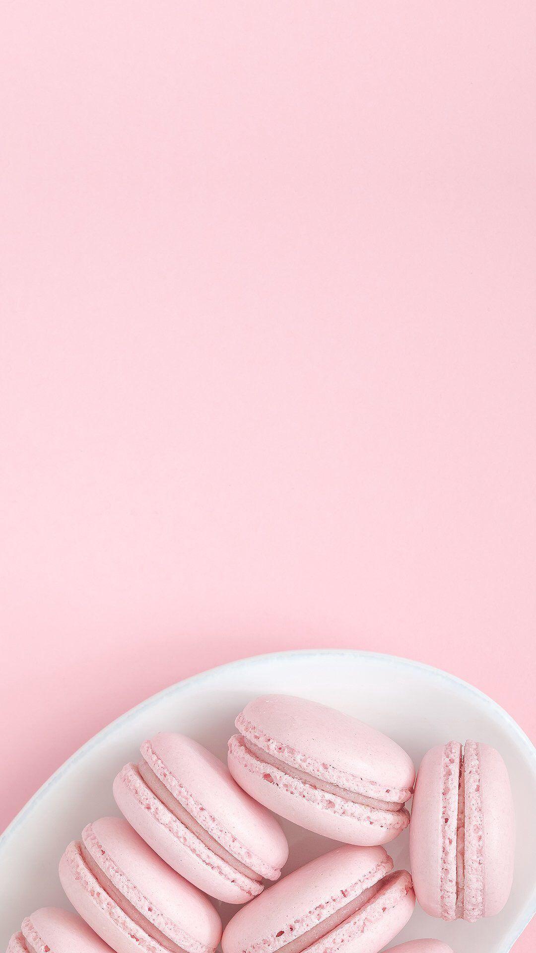 Pink Macaroons Pink Wallpaper Iphone Pastel Pink Aesthetic
