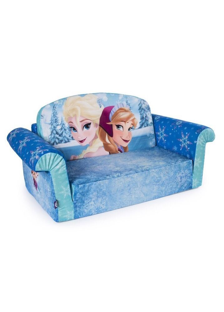 Disney Frozen Flip Open Sofa Convertible Couch Lounger Toddler