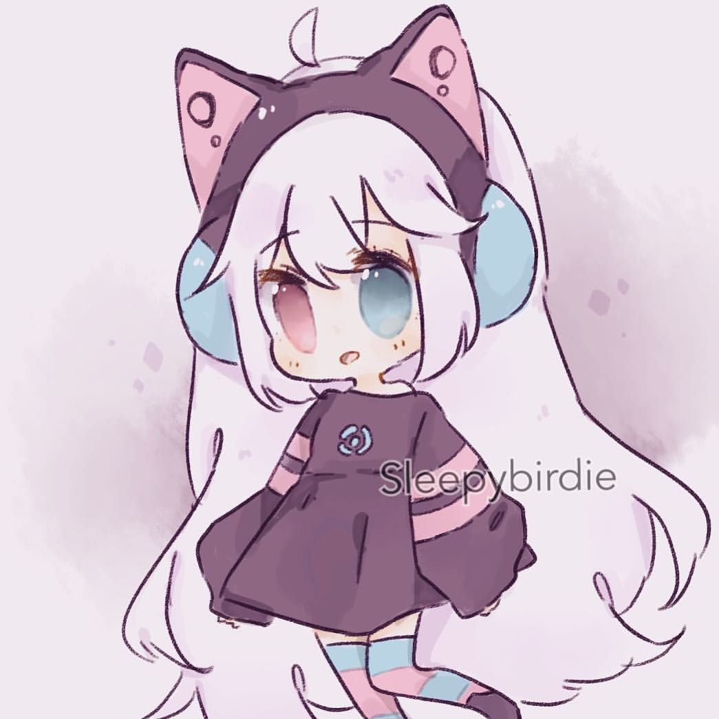 Art Trade With Ariimaw Aaa Thankyou For Being So Patient With Me Hope My Part Is As Good As Yours Cute Anime Chibi Art Anime Art