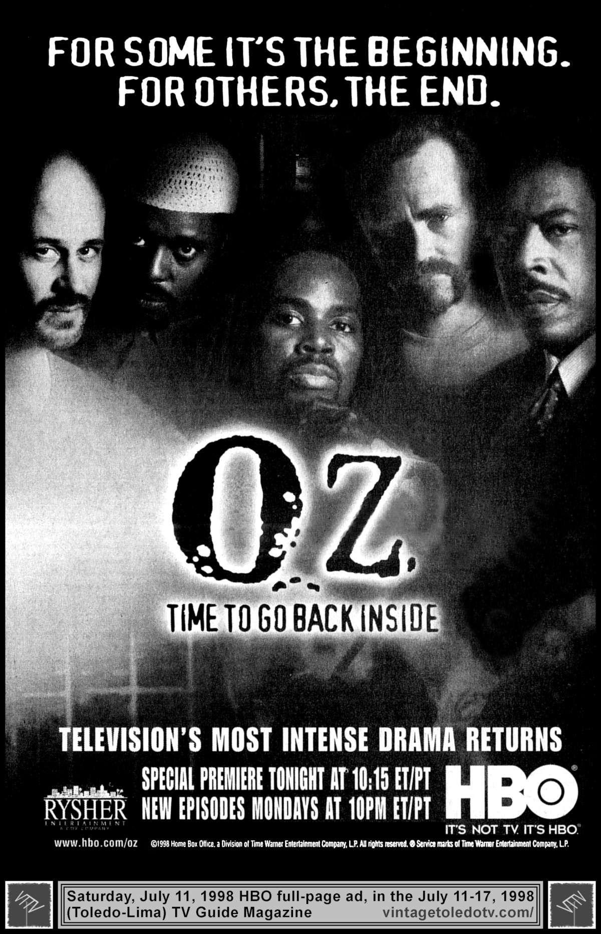 Vintage Toledo TV - Vintage Cable Ads - Oz \
