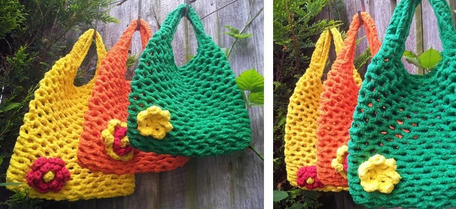 Crochet Mesh Bag Pattern For Beginners Crochet Everything And