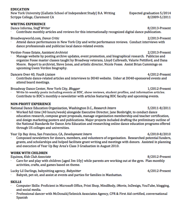 Babysitter Resume Sample Sample Assistant Archivist Resume  Httpexampleresumecv