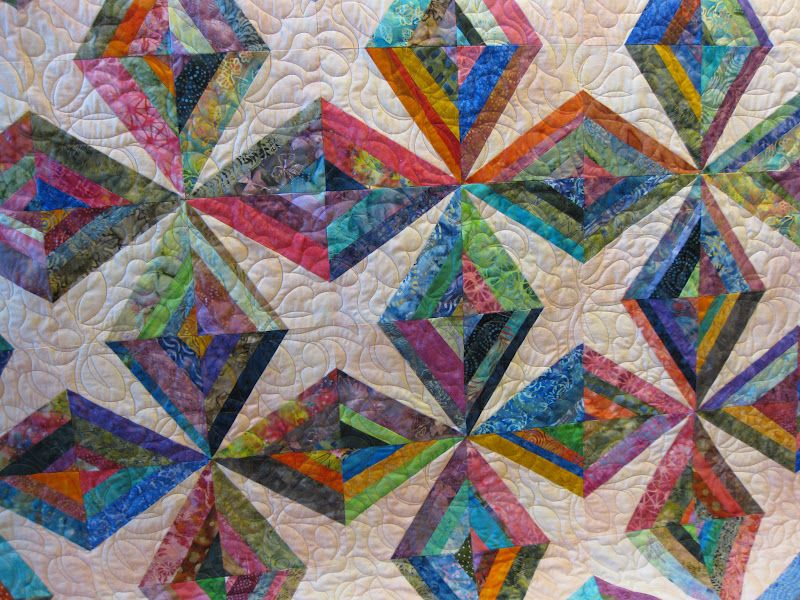 string quilt patterns. | ... my daughter's batik string quilt. She ... : string quilts patterns - Adamdwight.com