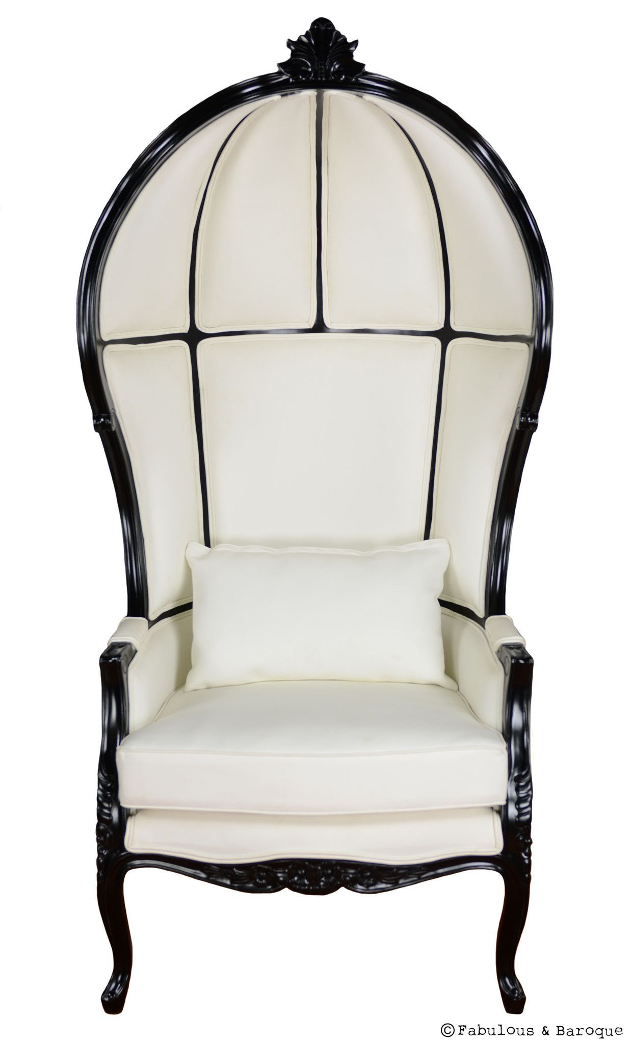 Ornate Bedroom Chairs Victoire Balloon Chair White Black Baroque Nice And Rococo