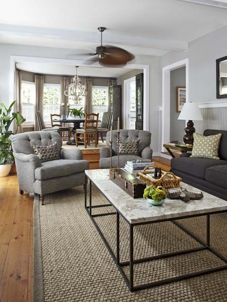 explore cottage living rooms living room ideas and more - Louvered Dining Room Decor