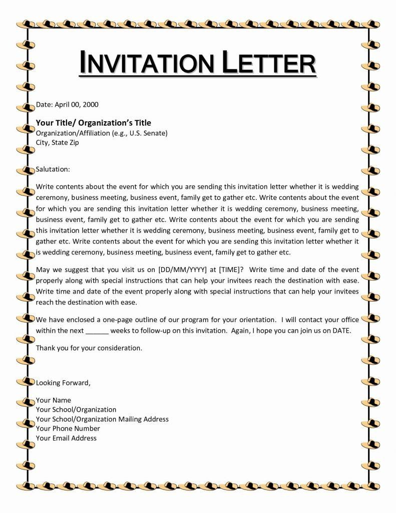 Samples Of Invitation Letters New Year End Party Invitation Letter