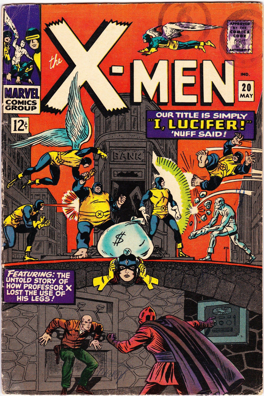 Uncanny X Men 20 1st Series 1963 May 1966 Marvel Comics Grade Vg F Comics X Men Silver Age Comics