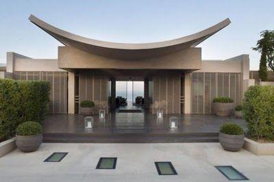 Dream House Harmonious Villa Design With Traditional Korean Facade And Luxurious Villa Interior Courtyard House Plans Villa Design House Design