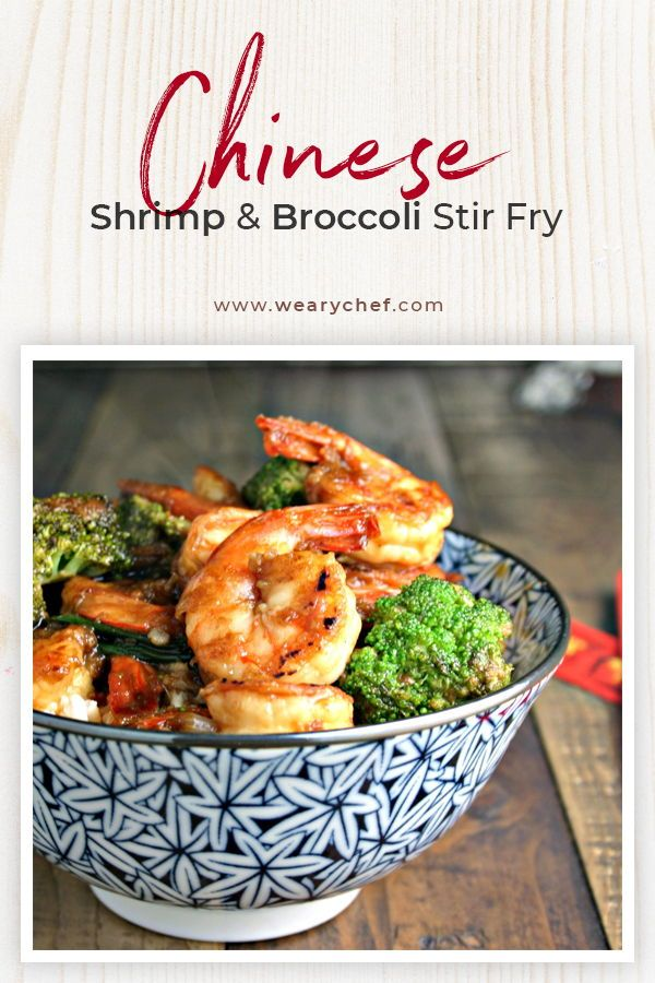 Photo of Chinese Shrimp and Broccoli Stir Fry – The Weary Chef
