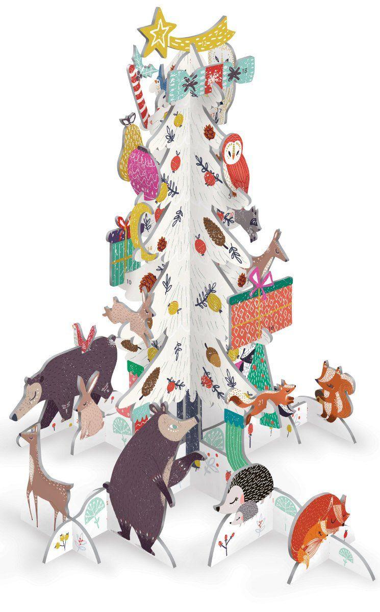Frosty Forest Pop & Slot Calendar in 2019 | Christmas pops, Advent calendar, Christmas decorations