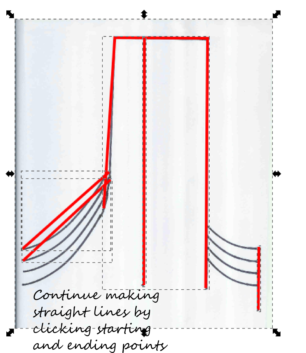 Drawing lines and curves in Inkscape | Cutfiles/Templates | Pinterest
