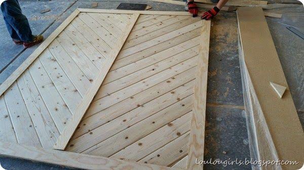 How To Build Your Own Chevron Barn Door Making Barn Doors Barn Door Interior Barn Door Hardware