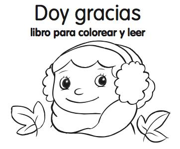 Spanish Thanksgiving Minibook from Monarca - Spanish Playground