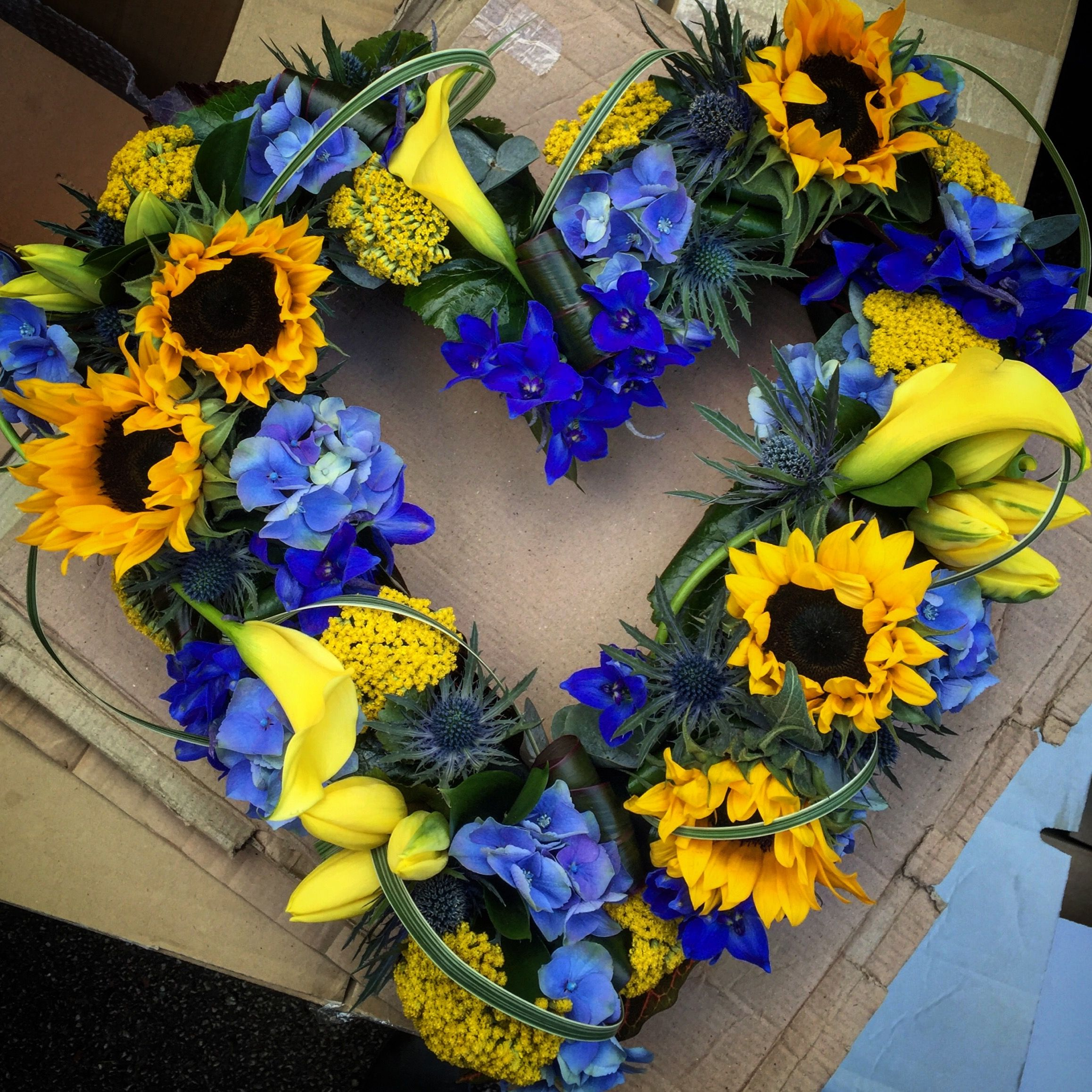Funeral Wreath Hannah Williamson Flowers Funeral Pieces