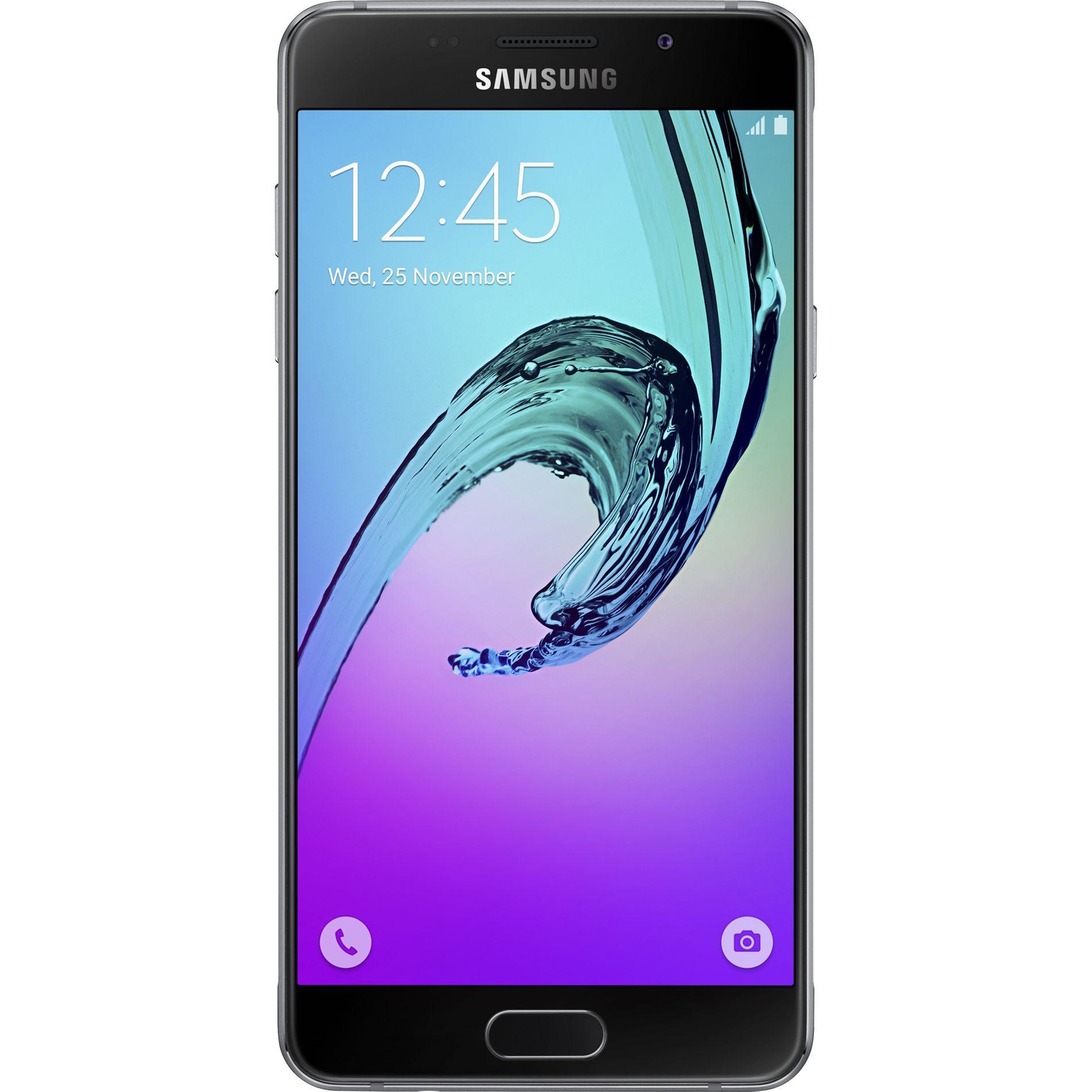 Smartfon Samsung Galaxy A3 2016 16gb 4g Black Bezplatna Dostavka Cena 529 99lv Link Za Porchka Http Bit Ly Samsung Galaxy Samsung Samsung Galaxy A3