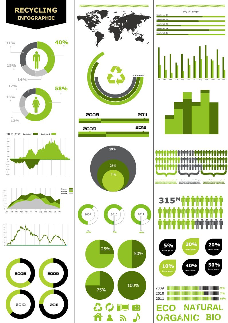 Infographics and Chart Design 3 | Infographs | Pinterest | Chart ...