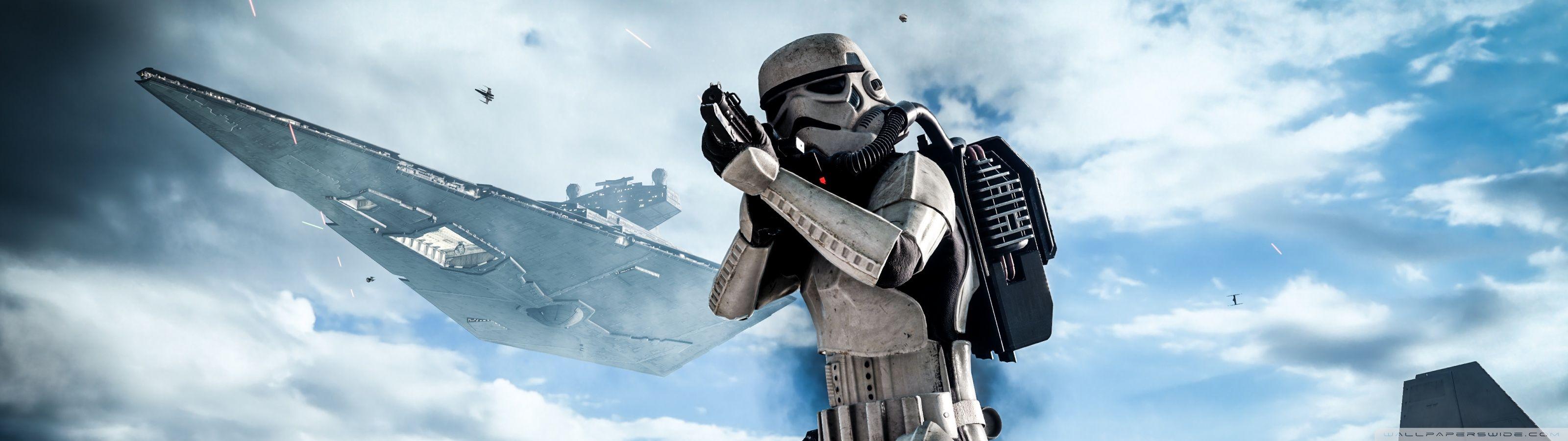 Star Wars Battlefront HD Desktop Wallpaper Widescreen High