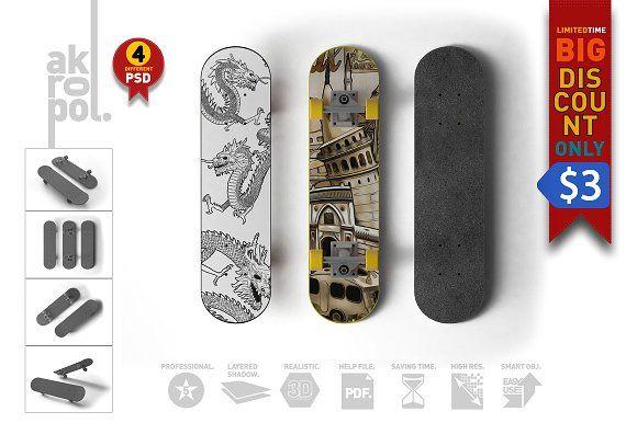 Download Skateboard Mock Up Mockup Free Psd Mockup Psd Mockup