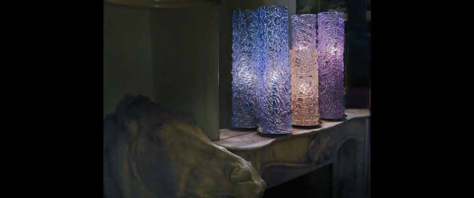Lamps: Crystal Tower, Scent of Champagne, Heaven's Blue, Mystic Violet