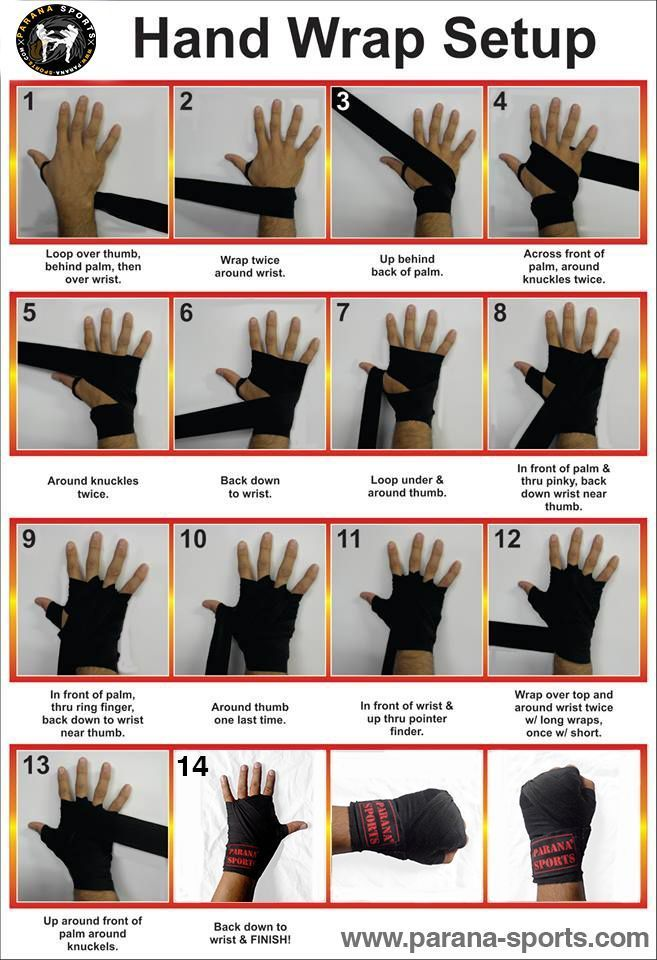 Hand Wrap Setup Easy Way To Wrap Your Hand And Get Ready For The Training Kickboxing Workout Karate Training Martial Arts Workout