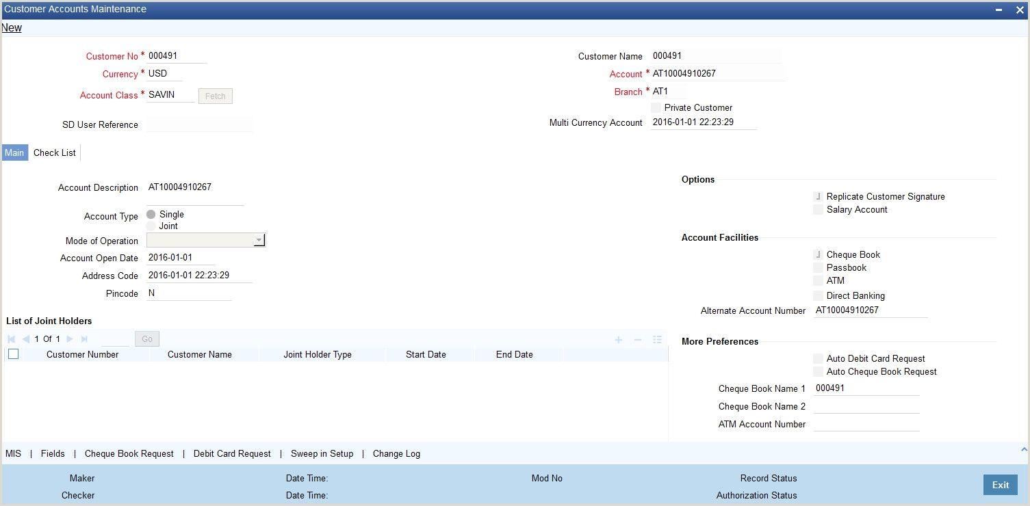 Bank Account Verification Letter Sample