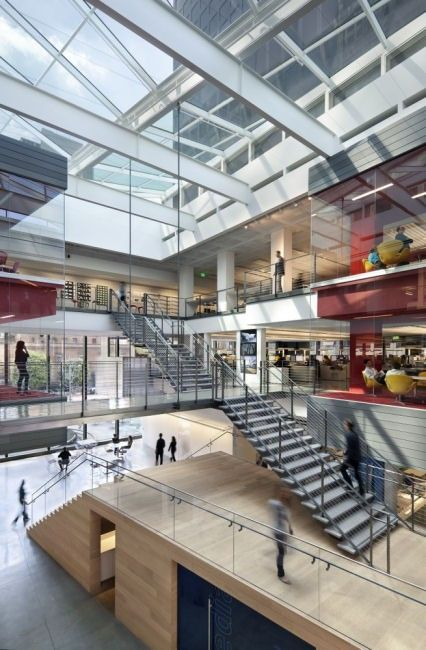 Wan interiors interiors gensler los angeles huge for Recycled building materials los angeles