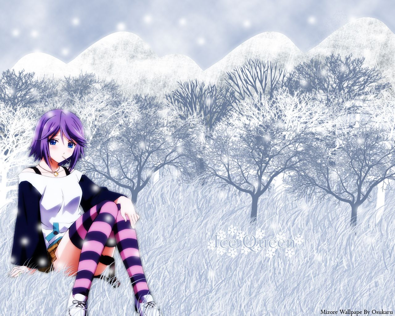 Mizore Shirayuki Wallpaper