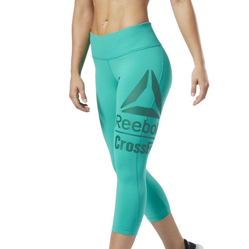 Reebok Crossfit Lux 3 4 Tights Emerald Ec1454 Hairremovaldiy Womens Workout Outfits Reebok Crossfit Reebok