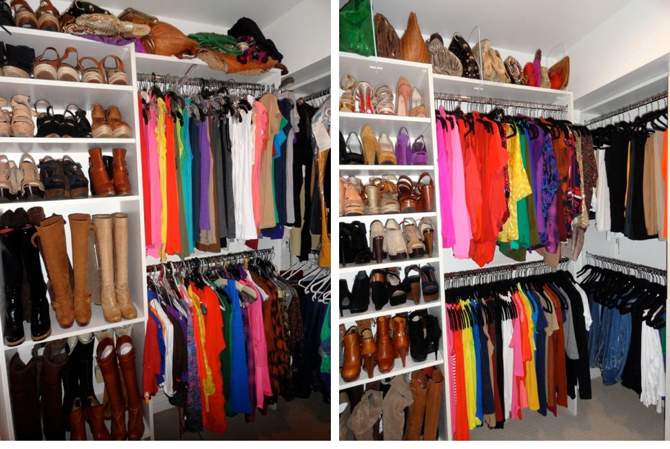 How To Organize Your Cluttered Closet! U2013 ModernMom