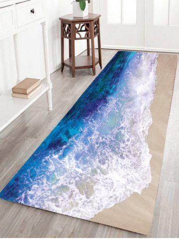 Sea Tide Antislip Flannel Bathroom Rug Pinterest Flannels Bath And Rugs Online
