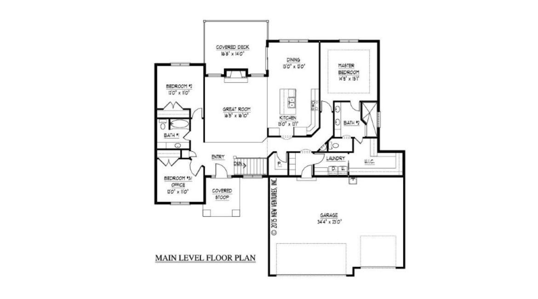 Nv09112 Ranch New Ventures Custom Home Designs Online House Floor Plans Lincoln Ne House Floor Plans House Plans House Flooring