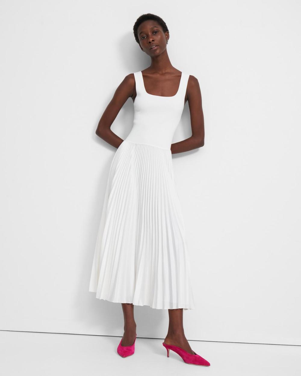 Sq Nk Rib Dress Square Neck Dress Dresses Ribbed Dresses [ 1250 x 1000 Pixel ]