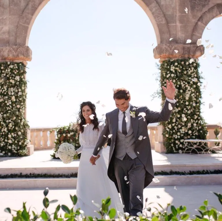 Rafael Nadal Shares Unseen Photo From Wedding Day To Maria Francisca Perello Rafael Nadal Fans Rafael Nadal Tennis Photos Rafa Nadal