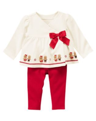 Gymboree NWT 2 pairs Red GINGERBREAD BOY STRIPE DRESS SOCKS SET 0 3 6 12 Months