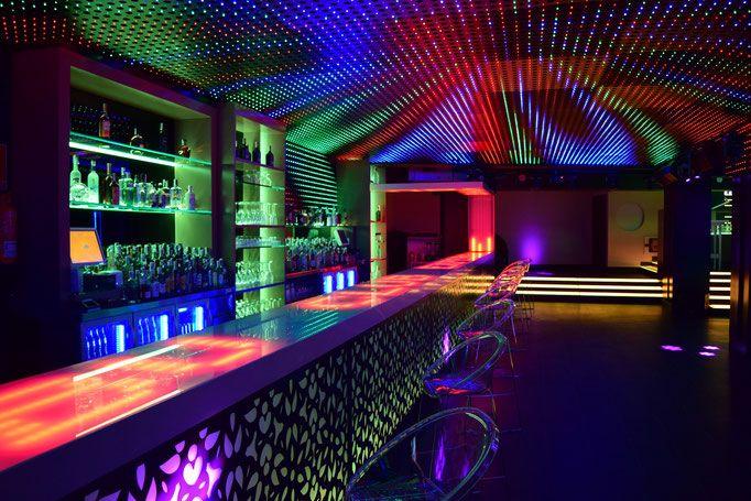 Resultado de imagen de decoracion discotecas barra de bar barra de bar bar y barra - Ideas para discotecas ...