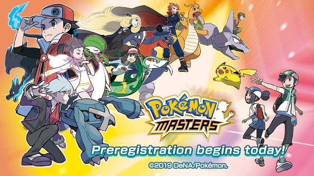 Pre Registration Begins Today For Pokemon Masters A New Adventure Coming To Mobile Devices In Summer 2019 Pokemon New Pokemon New Adventures