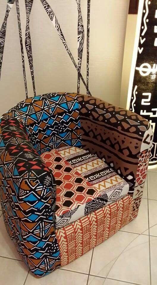 Wax Me Gabon Chairaffair Decoration Interieure Africaine Design D Interieur Africain Deco Africaine