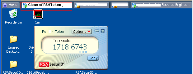 RSA SecurID software token cloning: a new how-to | Security | Software