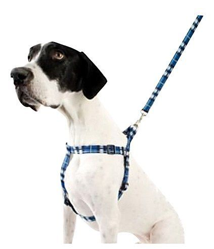 Pet Attire Weave Step In Harness 26 38 Inches Plaid More