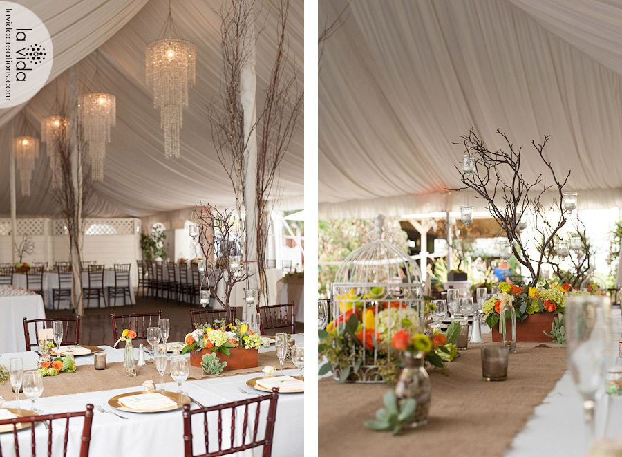 Tented Pavillion San Go Weddings Southern California Premier Wedding Venue Twin Oaks