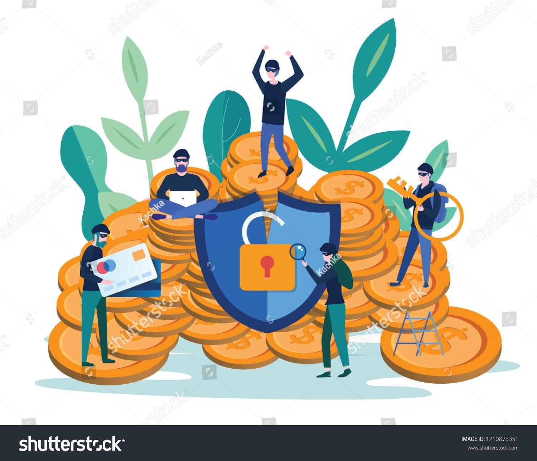 Hacker internet activity, security hacking, Cyber criminals