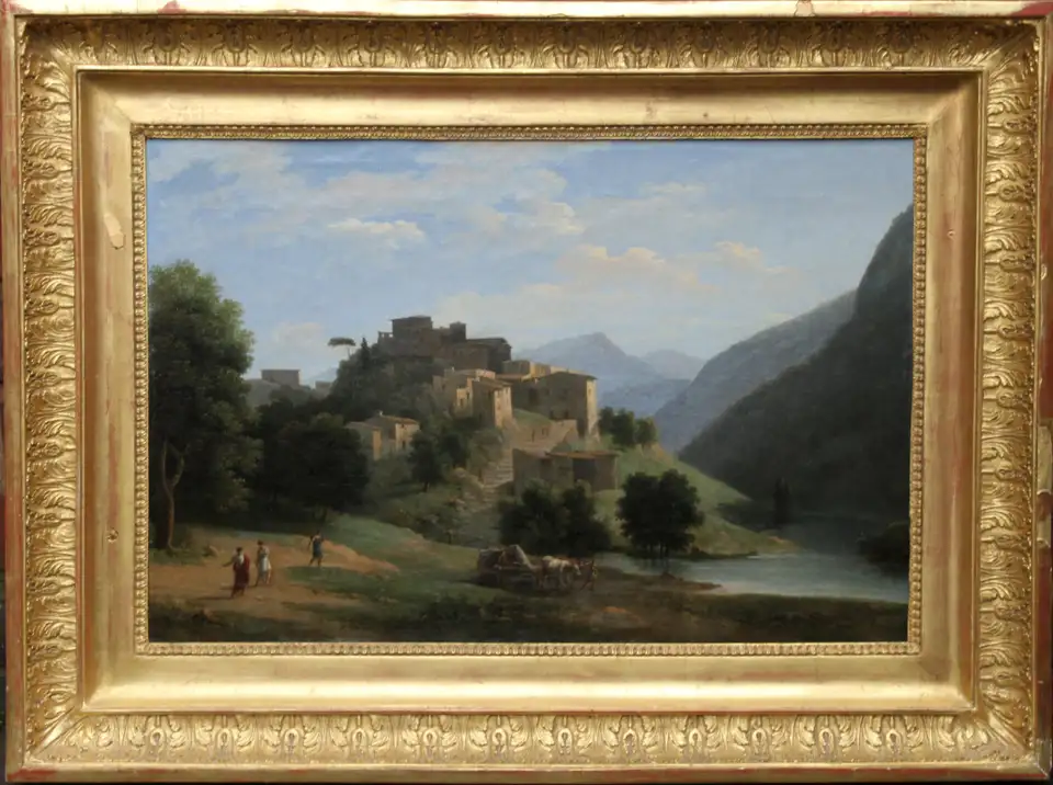 For Sale On 1stdibs Italian Mountainous River Landscape French 19th Century Neo Clas Landscape Paintings Original Landscape Painting Oil Painting Landscape