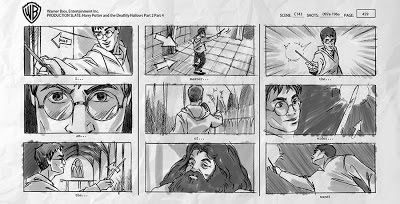 Harry Potter Most Famous Story Board  The Making Off