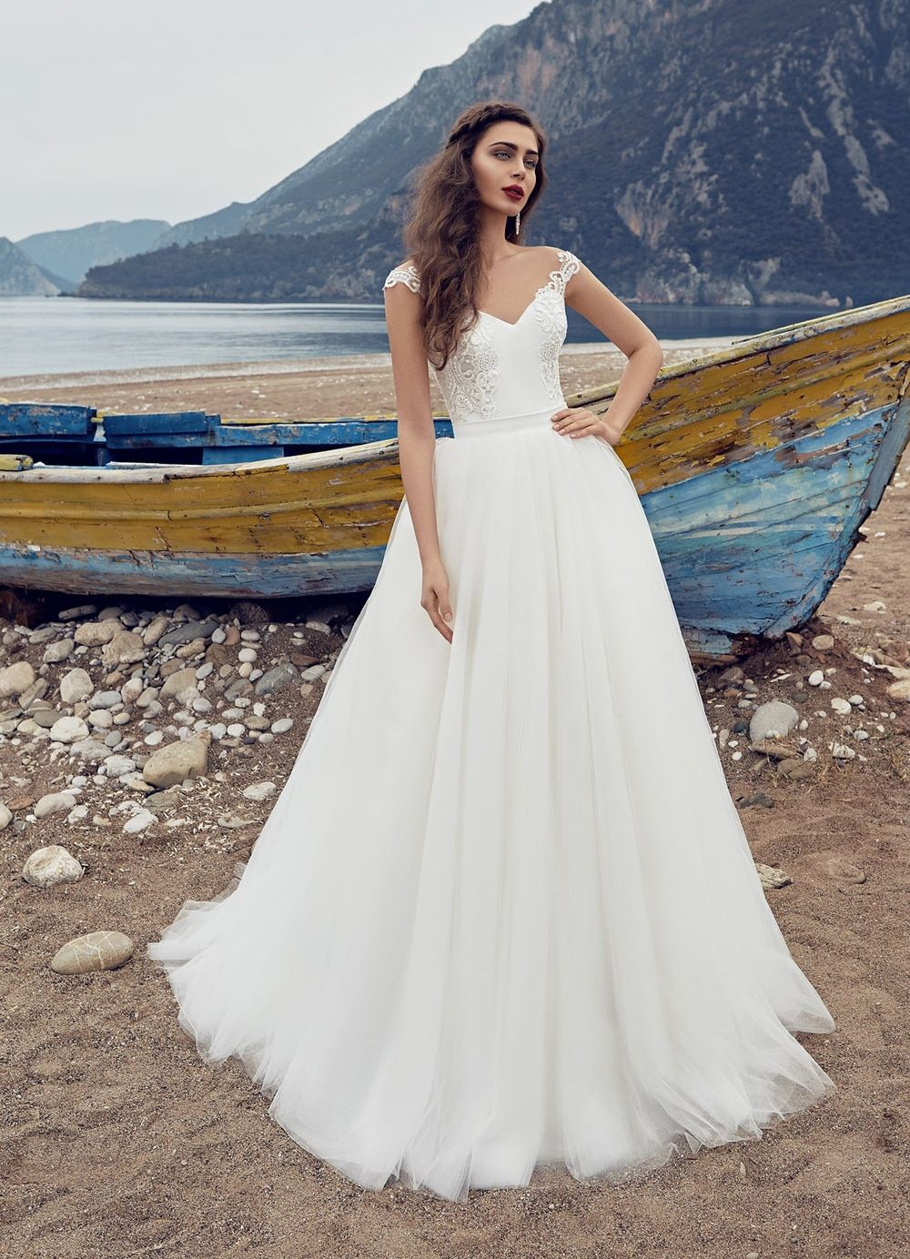 Wedding Gown With Removable Skirt Creative
