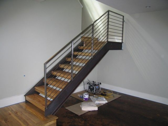 Best Attic Stairs Steel Handrail Wooden Staircases Handrail 640 x 480
