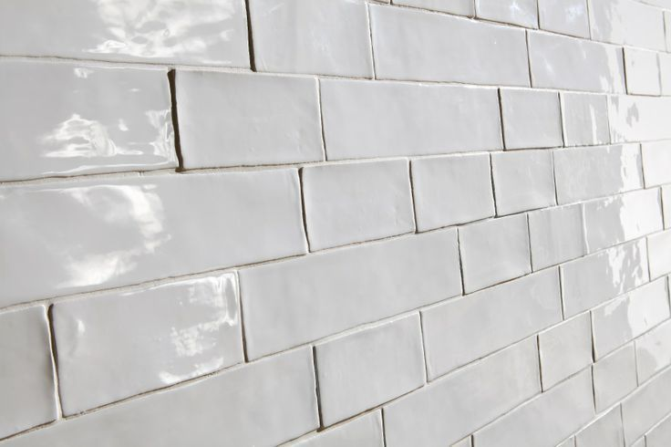 Rustic Handmade Subway White Gloss Matt Tiles Handmade Subway
