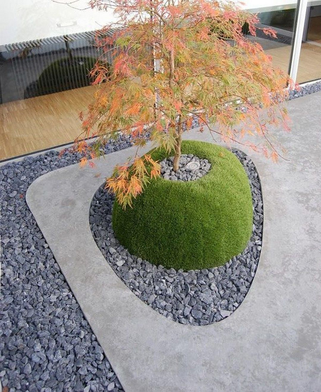Modern Garden Landscape Designs 28 A Beautiful Front Yard Is The Calling Card Of Yo In 2020 Japanese Garden Landscape Modern Garden Landscaping Modern Landscaping