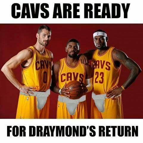 Cavs ready for Draymond