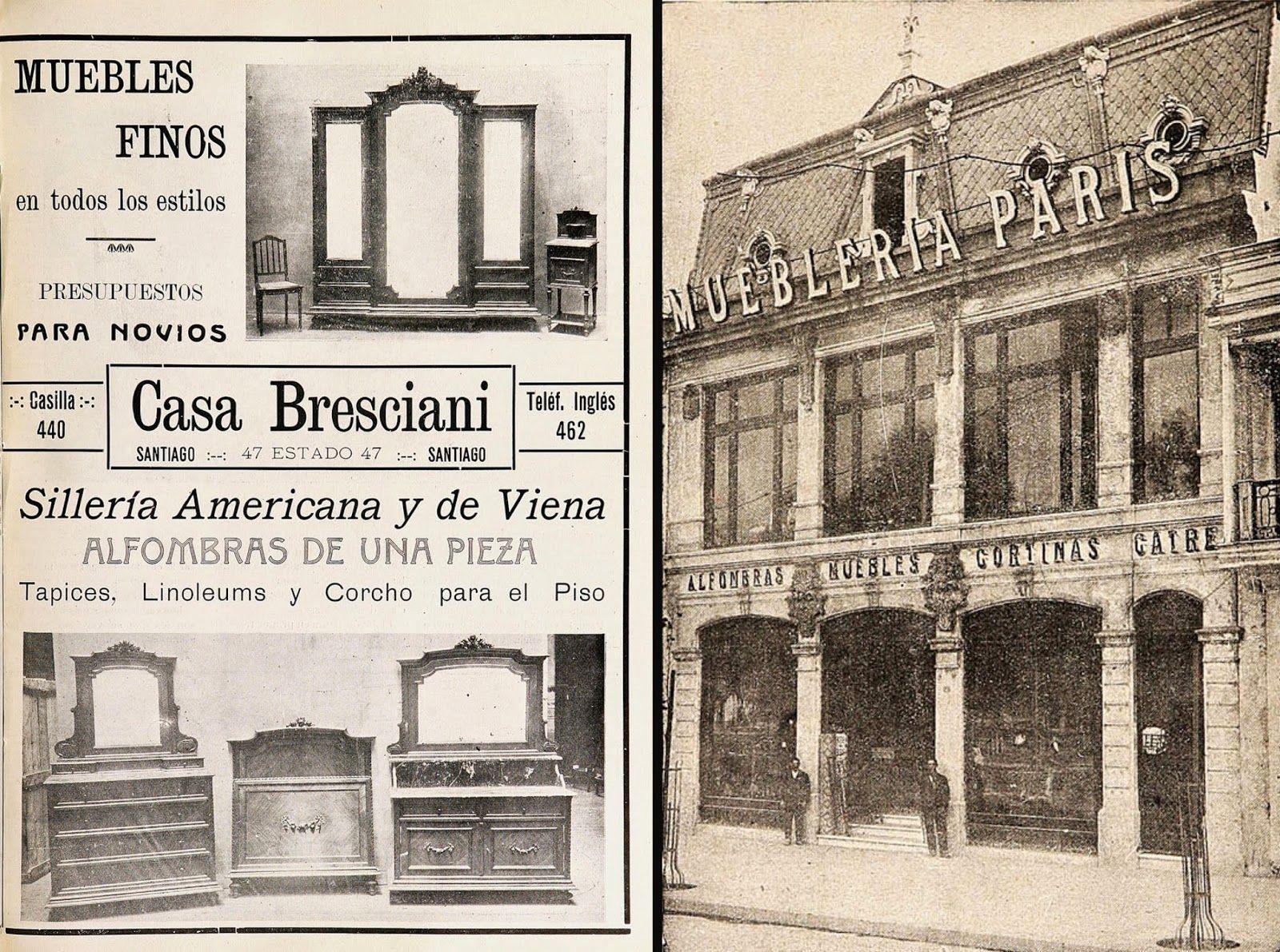 La muebler a casa bresciani y otras tantas dieron paso a inicios de la d cada de 1940 a la - La muebleria ...