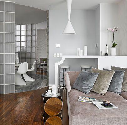 Майк Шилов - Дизайн интерьеров Апартаменты на Воробьёвых горах - exklusive wohnung tlv get away tel aviv